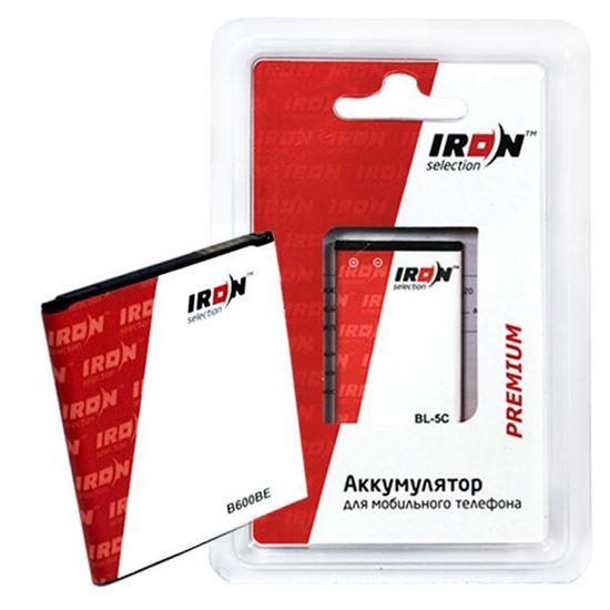 Изображение Аккумулятор IRON Selection Premium для Nokia (BL-4C) 6100/6101/6133/6170/6260/6300/ 7270/1202/1661