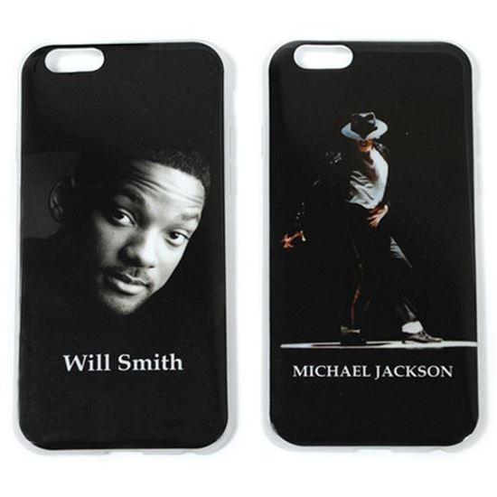 Изображение Задняя панель для iPhone 6 силикон лаковый Will Smith