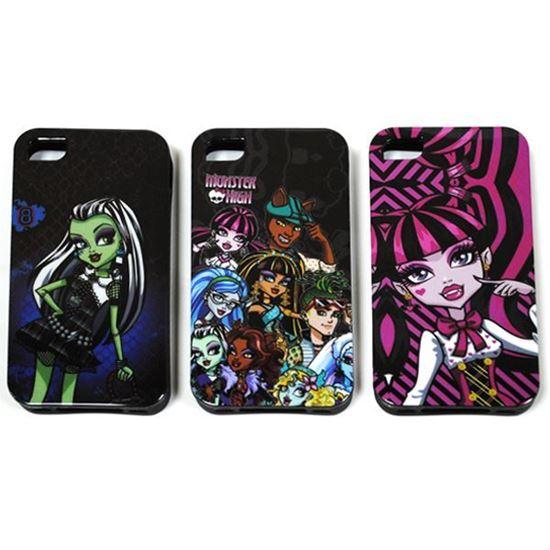 Изображение Задняя панель для iPhone 6 силикон лаковый Monster High