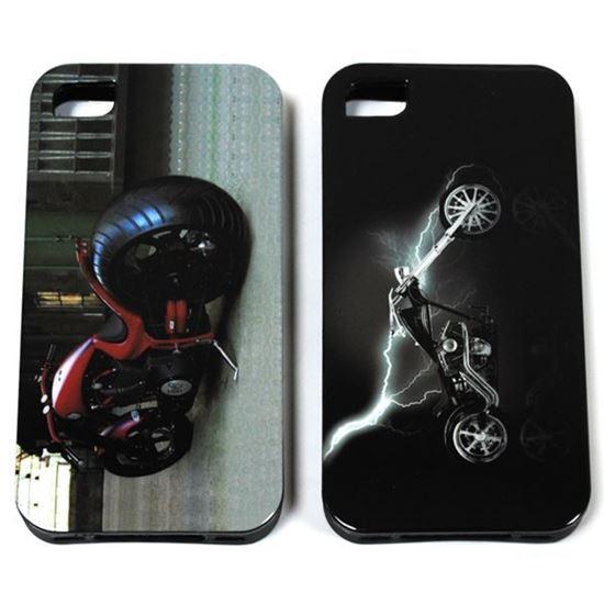 Изображение Задняя панель для iPhone 6 силикон лаковый Мотоцикл № 2