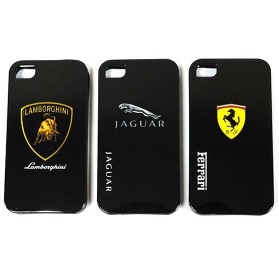 Изображение Задняя панель для iPhone 6 силикон лаковый Логотип Jaguar