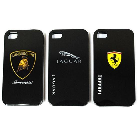 Изображение Задняя панель для iPhone 6 силикон лаковый Логотип Ferrari