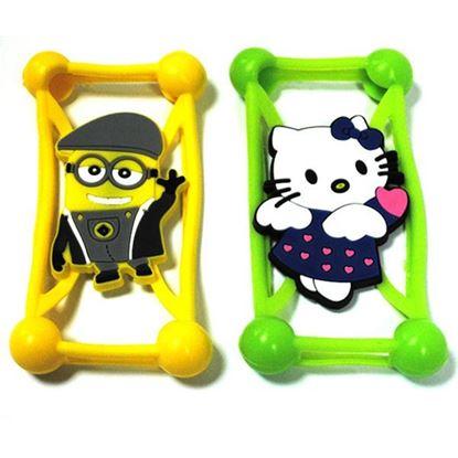 Изображение Бампер резиновый универсальный IRON Selection Hello Kitty зелёный