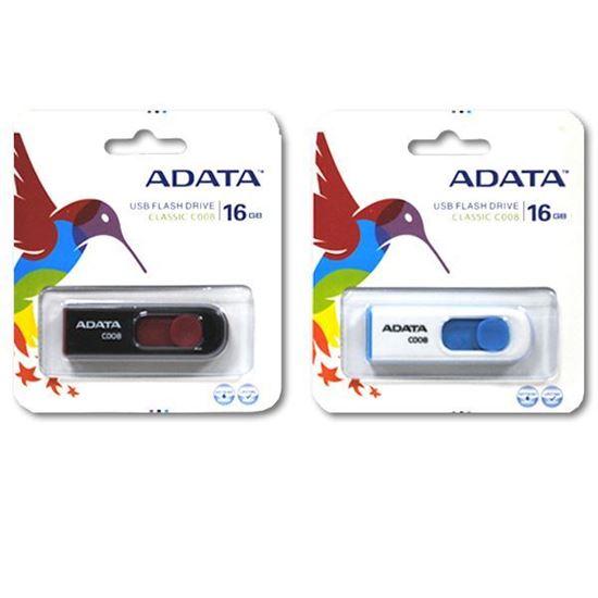 Изображение USB накопитель ADATА 16Gb чёрно-красный