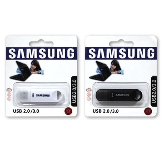 Изображение USB накопитель SAМSUNG 16Gb белый