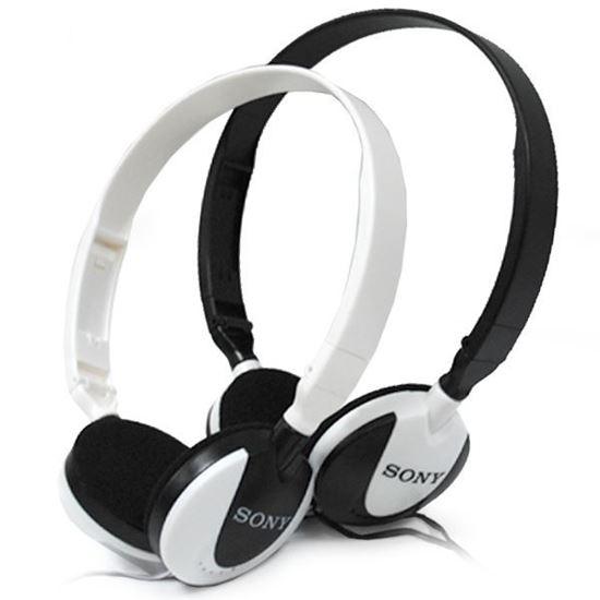 Изображение Гарнитура накладная Sony MS-164 (MP3, iPod, iPhone, Samsung) в блистере чёрная
