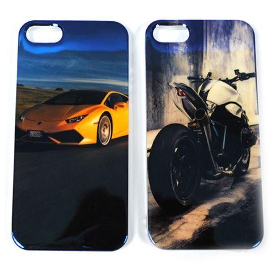 Изображение Задняя панель для iPhone 4/4S силикон лаковый Мотоцикл