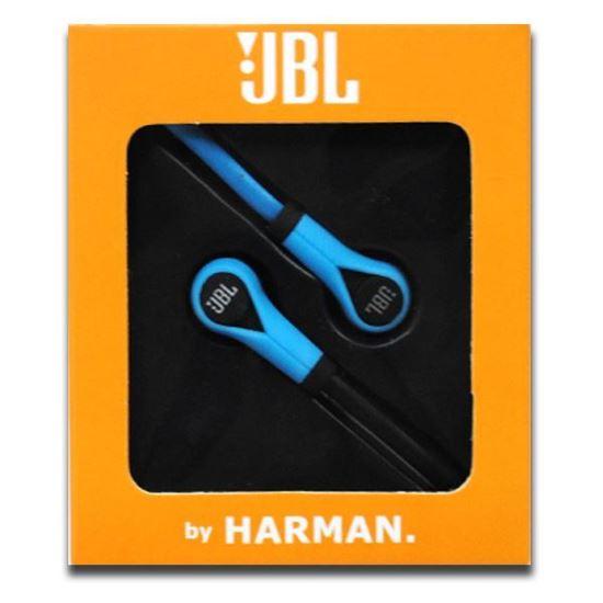Изображение Наушники вакуумные JBL JL-7 (MP3, CD, iPod, iPhone, iPad) в коробке голубые