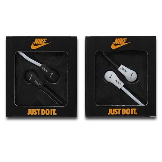Изображение Наушники вакуумные Nike NK-9 (MP3, CD, iPod, iPhone, iPad) в коробке чёрные