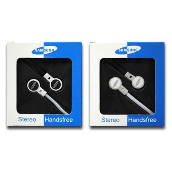 Изображение Наушники вакуумные Samsung SM-13 (MP3, CD, iPod, iPhone, iPad) в коробке чёрные