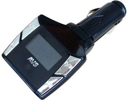 Изображение FM - модулятор+MP3 плеер с дисплеем и пультом AVS F507