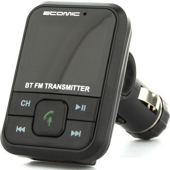 Изображение Bluetooth FM модулятор BT71D, черный