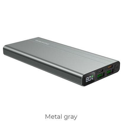 Изображение Внешний аккумулятор BT34 Velocity PD+QC3.0 power bank(10000mAh) (серебро )