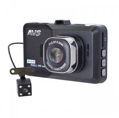 Изображение Видеорегистратор автомобильный AVS VR-202DUAL-V2