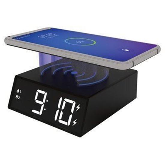 Изображение Часы-будильник RRC-910Qi с беспроводной зарядкой